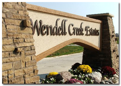 Custom Designed Homes on Large Lots Offer Tranquil Country Living at Wendell Creek Estates Located Near St. Jacob, IL & Troy Illinois